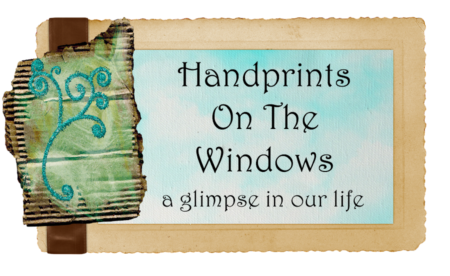 Handprints on the Window