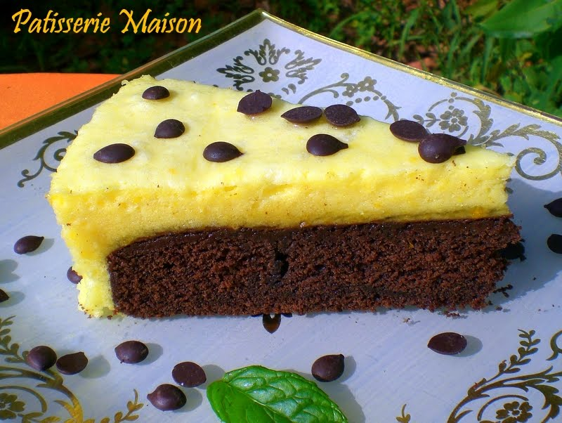 Recette gateau mousse a l'orange