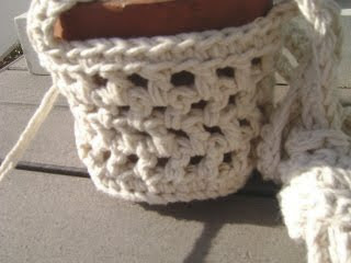Plant Hanger Crochet Twine by Witherwood on Etsy