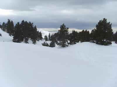 randonnée neige lac achard