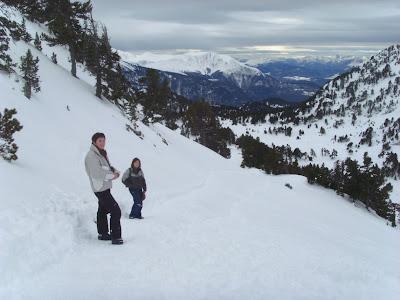col de l'infernet neige randonnée