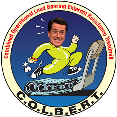 Colbert mission patch