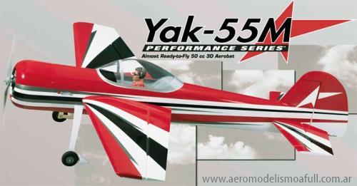 Yak-55M 50cc de Great Planes