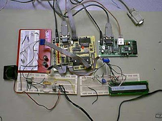 Web-based AVR Interface using AT90S8535