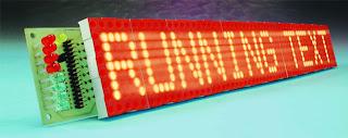 Running Tex Display using Microcontroller AT89s8252