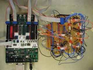 Firefly simulator on microcontroller avr