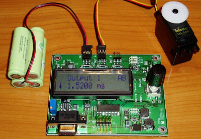 Electronic Project : Servo Tester