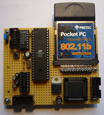 AVR Project : SPI2CF - WLan For AVR