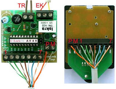 AVR project electronic lock