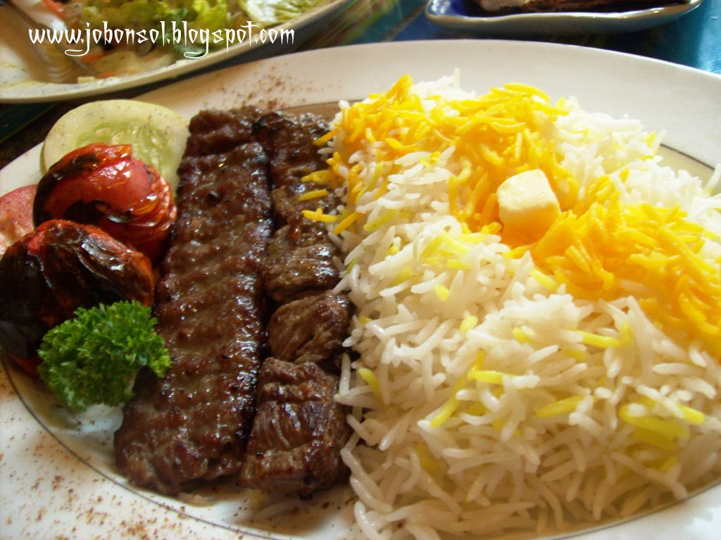 Review ar ya an aryan love the taste the ambience and for Arya persian cuisine