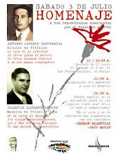 HOMENATGE A ANTONIO CABRERO Y VALENTÍN LLORENTE