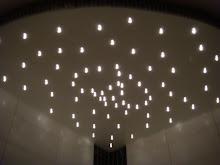 Stjärnhimlen i badrummet