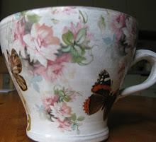 Jag vann den här vackra koppen från Marie med bloggen Tekla Maräng