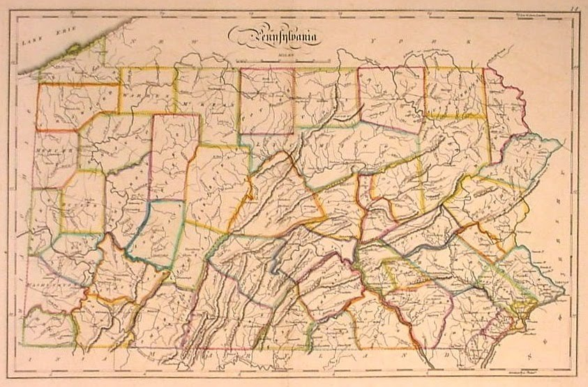 Map Of Colonial Pennsylvania  Bing Images