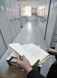Imagen de un depósito del Archivo General Histórico de Defensa / CARLOS ROSILLO