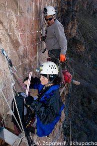 Equipo peruano-español de arqueólogos y espeleólogos participó en investigación. Foto: proyecto Ukupacha