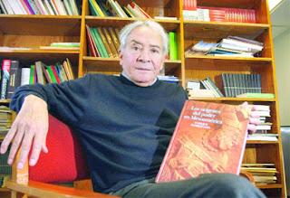 Publicación. Enrique Florescano reflexiona sobre la evolución del poder desde la época prehispánica en su nuevo libro. Foto: Alonso Gallegos