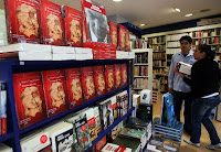 El sueño del celta, obra del premio Nobel de Literatura 2010, Mario Vargas Llosa, ya esta a la venta en las librerías de Lima. Foto: ANDINA/Gustavo Sánchez.