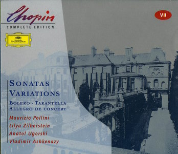 Chopin Complete Edition - Vol 7 - Sonatas & Variations