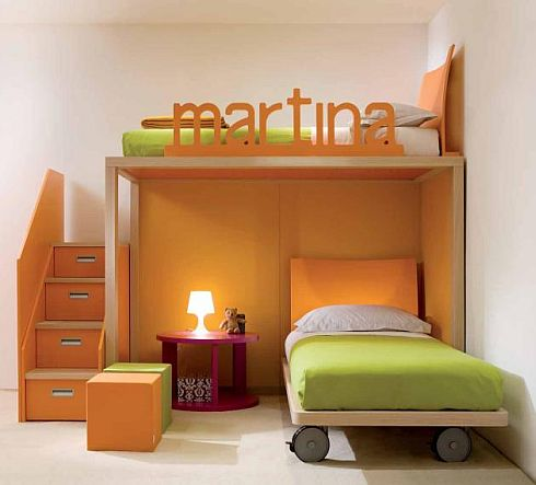 Bedroom Inspiration Design Style Colorful Child Bedroom | Bedroom