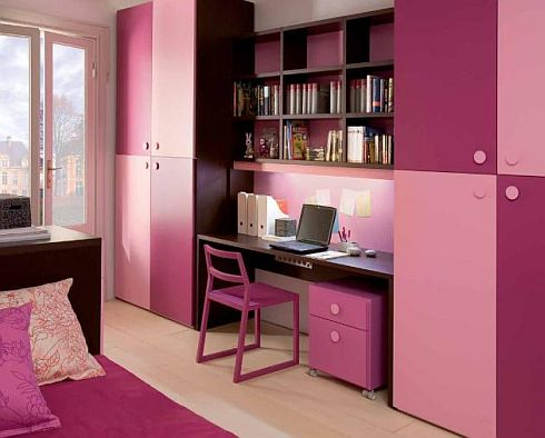 colorful luxury child bedroom