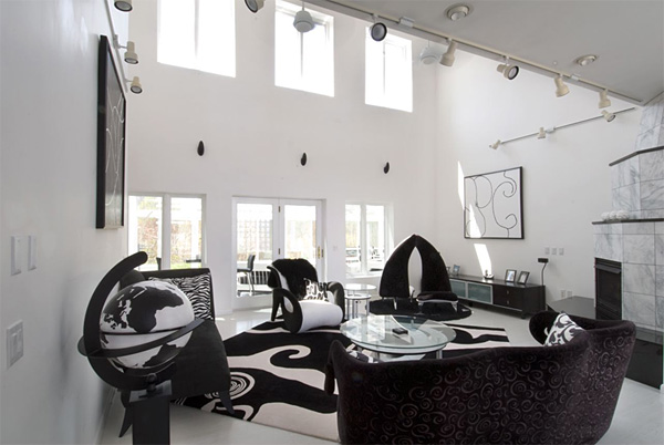 Daily Update Interior House Design Luxury Black And White
