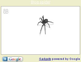 Add spider on your web
