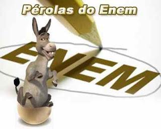 Pérolas do ENEM !! rs!