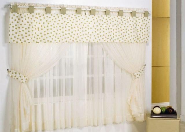 Vms decora es cortina com sanefa de bolinhas - Modelos de cortinas infantiles ...