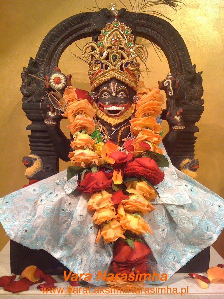 Strona Świątyni Vara Lakshmi Narasimha