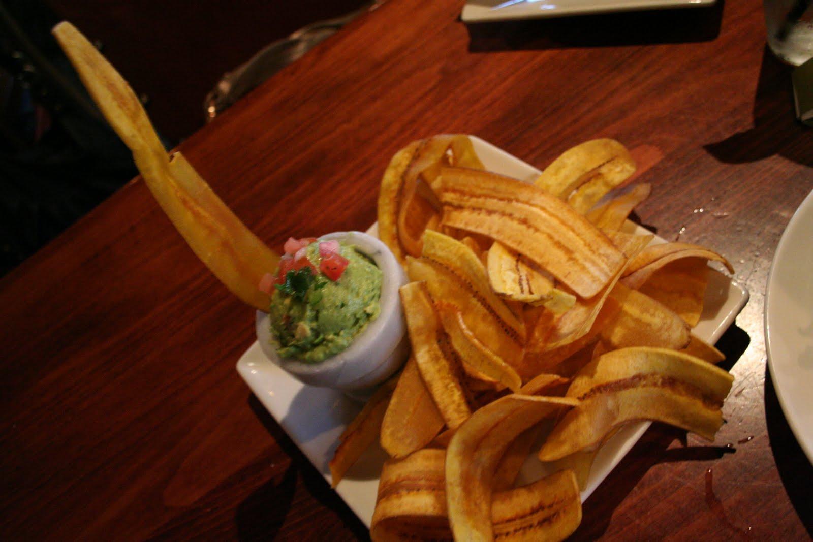 & Chicharritas- Avocadoes, tomatoes, cilantro, mild roasted Poblano ...