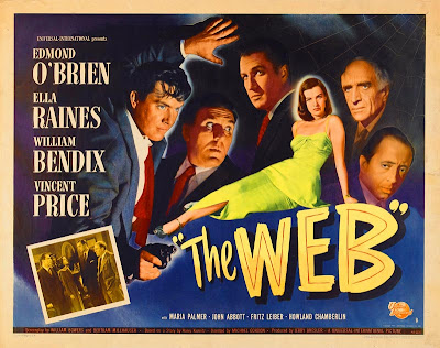 The Web 1947 Movie Poster