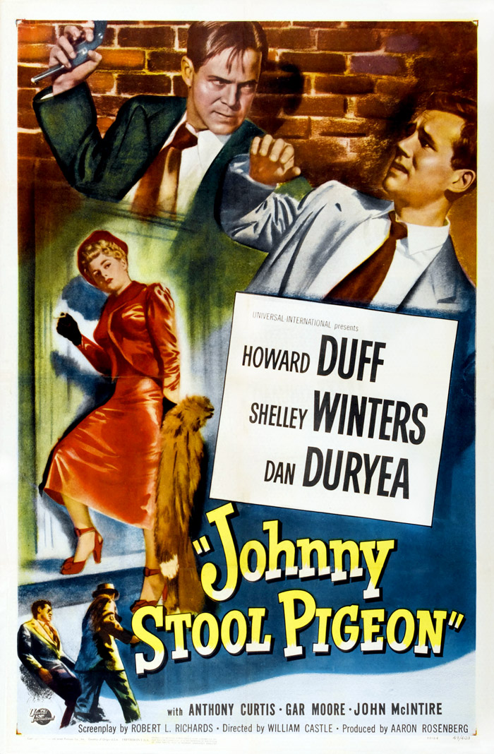 Johnny stool pigeon affiche