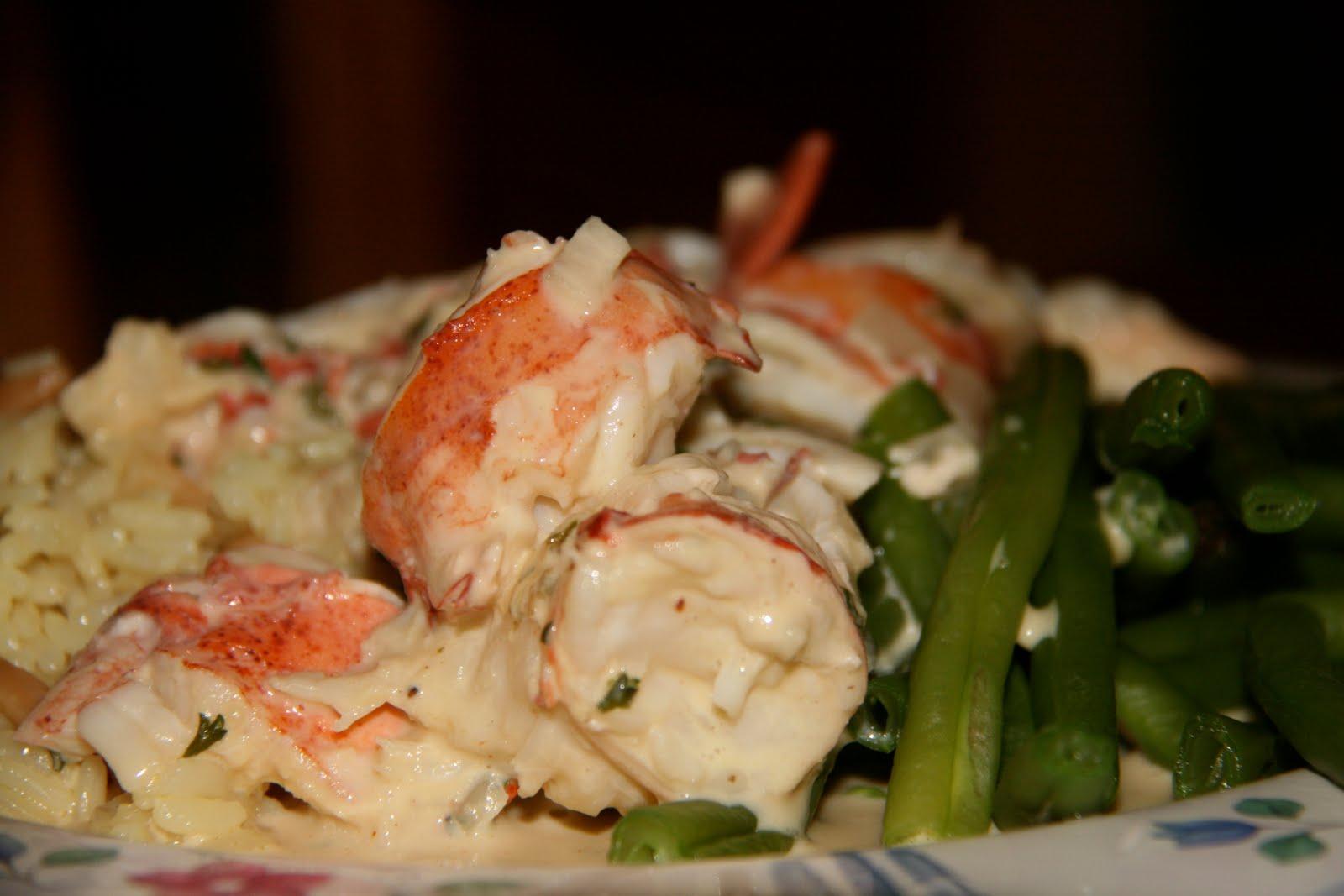 fancy lobster newburg - HD1600×1067