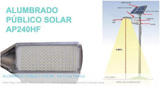 Tecnologia led en mexico alumbrado publico for Alumbrado solar exterior