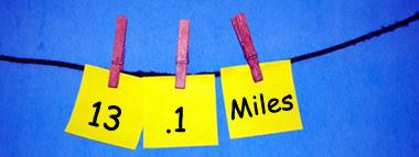 13.1 miles