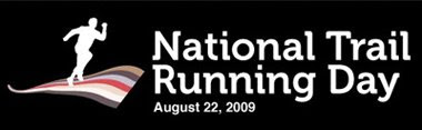 National trail running day banner
