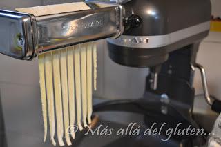 M s all del gluten pastas caseras sin gluten receta - Maquina de cocinar ...