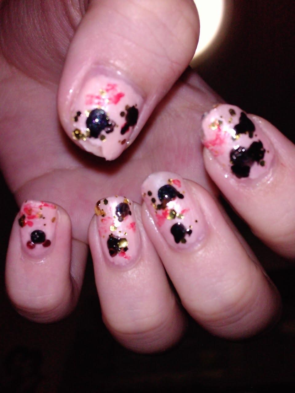 immorivine: Nail Art: Koi nails