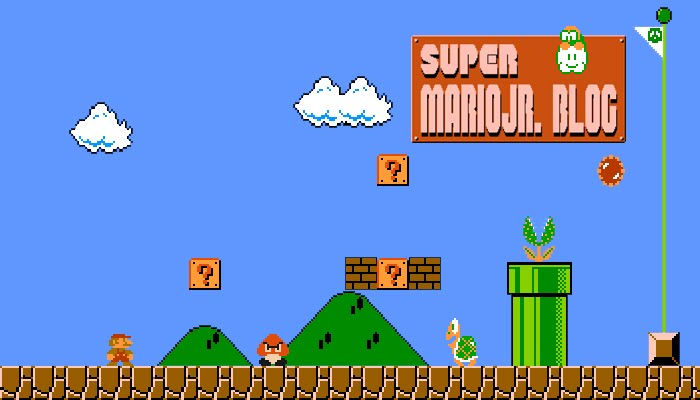 Super MarioJr. Blog