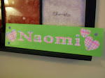 Personlized Girls' Name Sign