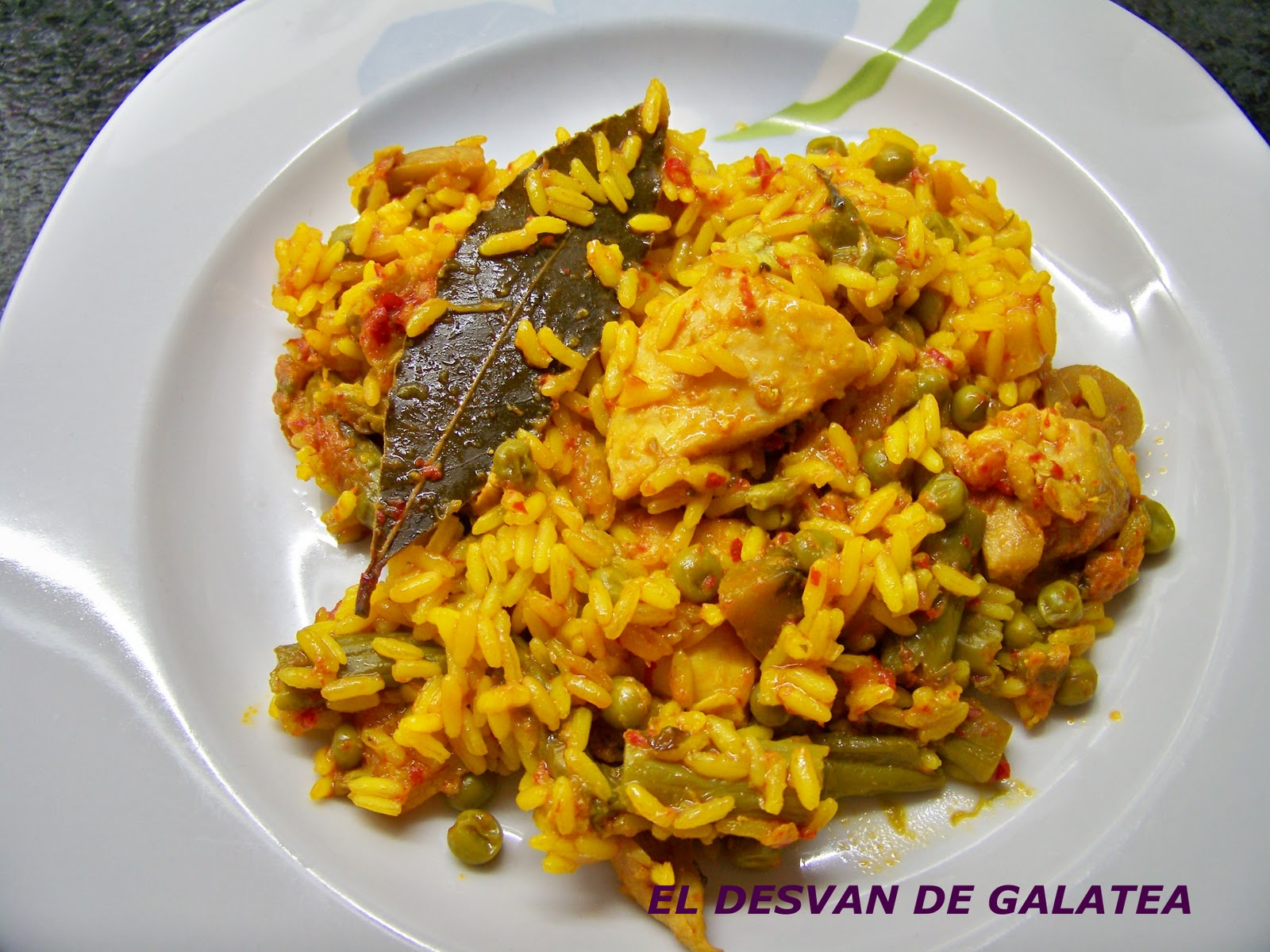 Arroz con pollo recipe dishmaps - Arroz en blanco con pollo ...