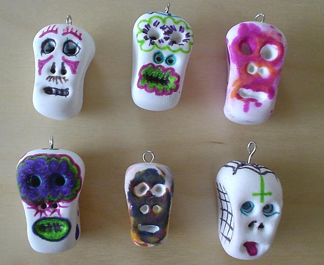 Sally annie magundy thank you lori day of the dead crafts for Day of the dead arts and crafts