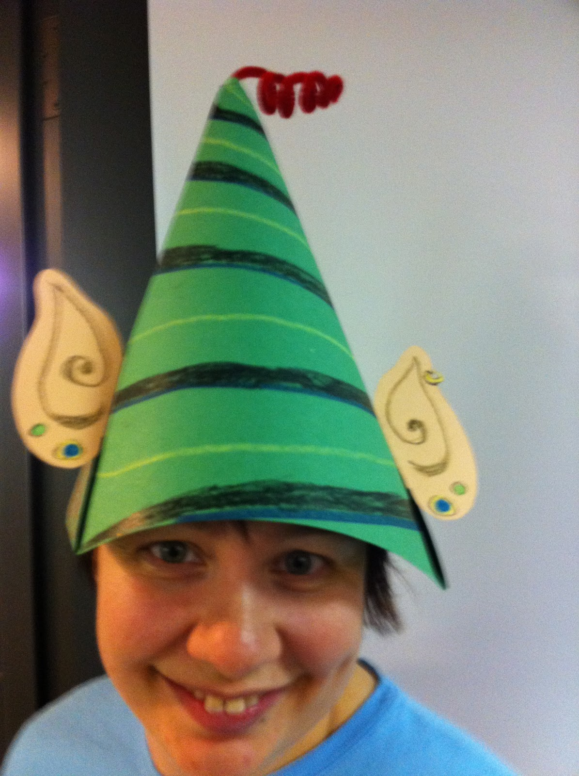 Make an elf hat and get a free e book of quot the elves and the shoemaker