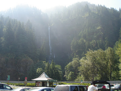 Multnomah Falls in Portland, Oregon