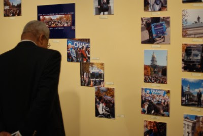 Blair-Caldwell African American Research Library Obama Exhibit - When Hope Won