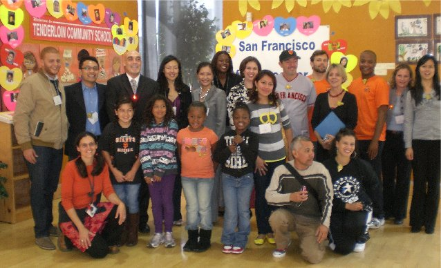 "San Francisco Achieves Universal Afterschool New National Report Lauds City's Pioneering Afterschool Efforts on ""National Lights On Afterschool Day"""