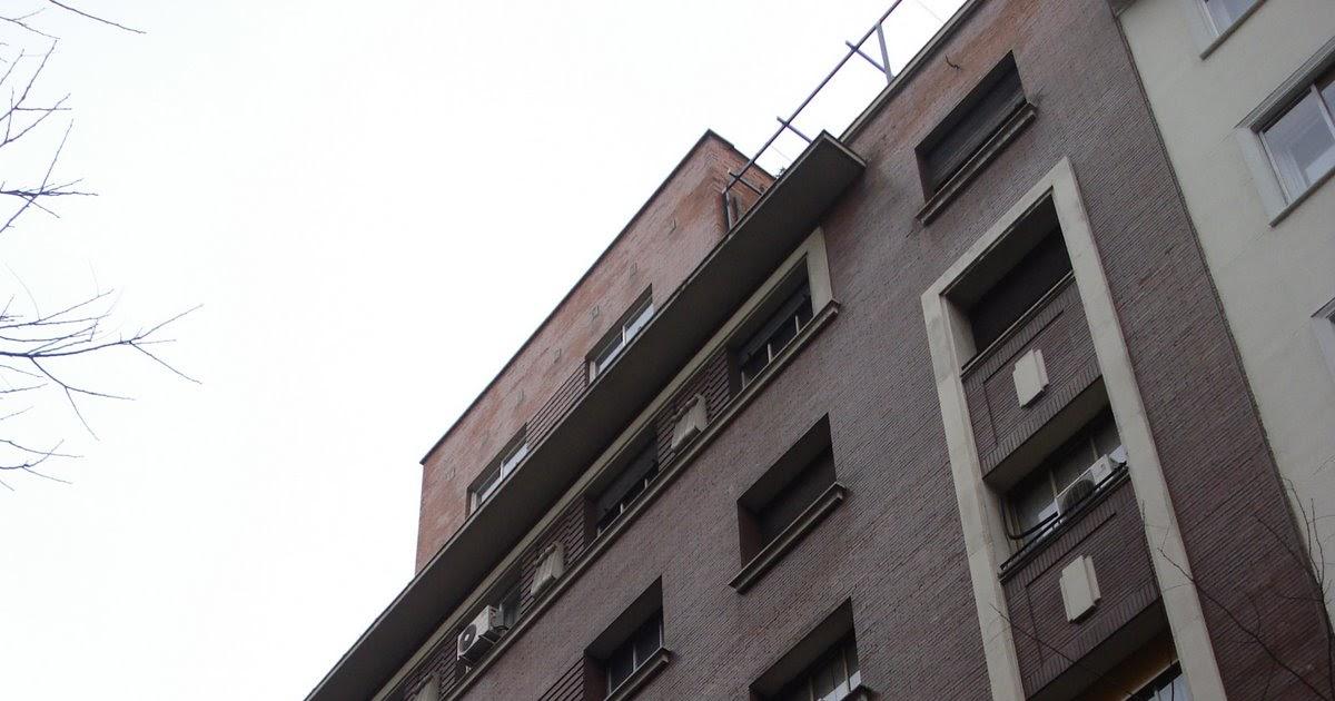 Madrid art dec serrano 81 for Arquitectura franquista