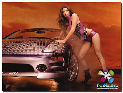 girls and cars posters