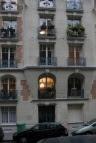 Paris apartment entrance